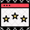 Rank Ranking Reputation Icon