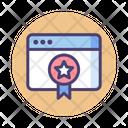 Page Rank Badge Award Badge Icon