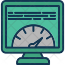 Page Speed Speed Checking Speed Test Icon