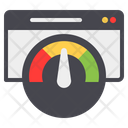Page Speed Web Page High Speed Icon