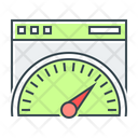 Page Speed Webpage Performance Performance Icon