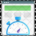 Speed Optimization Page Speed Web Performance Icon