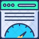Page Speed Optimization Speed Optimization Icon