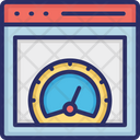 Page Speed Test Icon