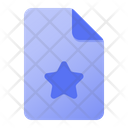 Page Star Icon