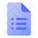 Page Text Icon