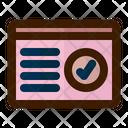 Page Verification Page Verified Verified Page Icon