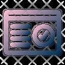 Page Verification Icon