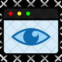 Page Views View Eye Icon