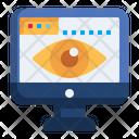 Page Views Internet Visitors Online Visitors Icon
