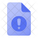 Page Warning Icon