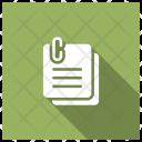 Pages Attach Attachment Icon