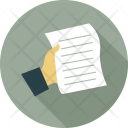 Pages Sheet Writing Icon
