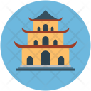 Pagoda Synagogue Building Icon