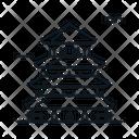 Line X Pagoda Icon
