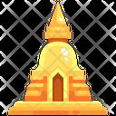 Pagoda Temple Religion Icon