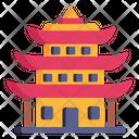 Japanese Building Japanese Pagoda Pagoda Icon
