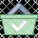 Paid Basket Bucket Icon