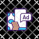 Paid Advertising Marketing Paid Icon