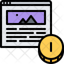Article Paid Money Icon