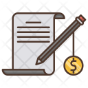 Paid Articles Digital Icon