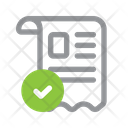 E Commerce Invoice Order Icon