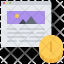 Money Coin Monetization Icon