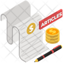 Paid Article Paid For Articles Content Payment Icon