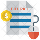 Invoice Bill Paid Paid Invoice Icon