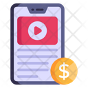 Paid Video Icon