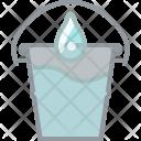 Pail Watering Gardening Icon