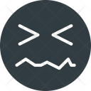 Pain Emoji Face Icon