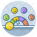 Pain Measurement Scale Speedometer Dashboard Icon