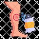 Sprain Spray Pain Spray Injury Spray Icon
