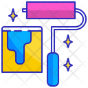 Paint Brush Ink Icon