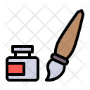 Paint Color Brush Icon