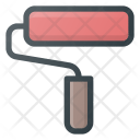 Paint Roller Fille Icon