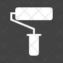 Paint Roller Color Icon
