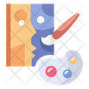 Paint Art Brush Icon