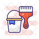 Paint Pattern Roller Icon
