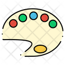 Paint Tray Painting Icon