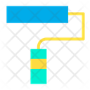Design Paint Roller Icon