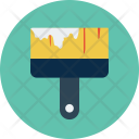 Paint Brush Construction Icon