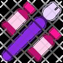 Paint And Brush Paint Brush Icon
