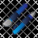 Education Brush Pen Icon