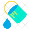 Bucket Color Design Icon