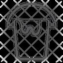 Paint Cart Paint Basket Paint Bucket Icon
