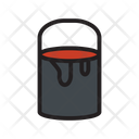 Bucket Construction Paint Icon