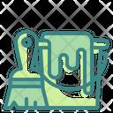 Paint Bucket Pail Color Icon