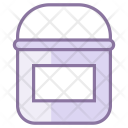 Paint Bucket With Icon